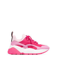 Chaussures de sport fuchsia Stella McCartney