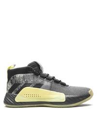 Chaussures de sport gris foncé adidas
