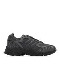 Chaussures de sport gris foncé adidas Originals