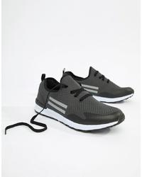 Chaussures de sport gris foncé Brave Soul