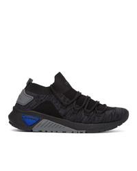 Chaussures de sport gris foncé Diesel