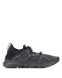 Chaussures de sport gris foncé Ermenegildo Zegna