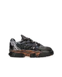 Chaussures de sport gris foncé Maison Margiela