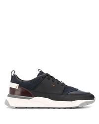 Chaussures de sport gris foncé Santoni