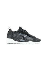 Chaussures de sport gris foncé Tod's