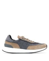 Chaussures de sport gris foncé Z Zegna