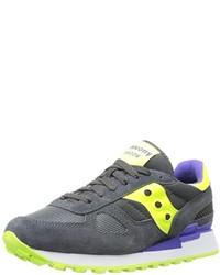 Chaussures de sport grises foncées