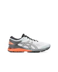 Chaussures de sport grises Asics