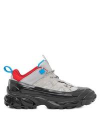 Chaussures de sport grises Burberry