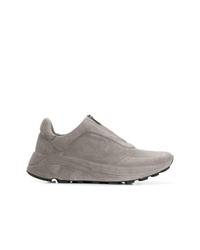 Chaussures de sport grises Del Carlo