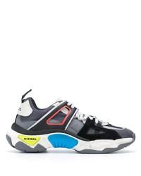 Chaussures de sport grises Diesel