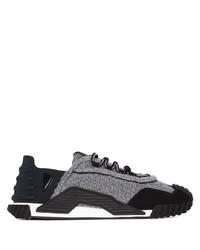 Chaussures de sport grises Dolce & Gabbana