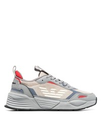 Chaussures de sport grises Emporio Armani