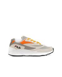 Chaussures de sport grises Fila