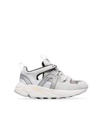 Chaussures de sport grises Ganni