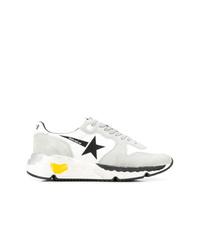Chaussures de sport grises Golden Goose Deluxe Brand