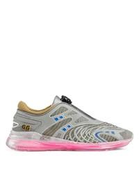 Chaussures de sport grises Gucci