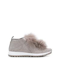 Chaussures de sport grises Jimmy Choo