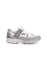 Chaussures de sport grises Maison Margiela
