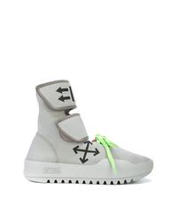 Chaussures de sport grises Off-White