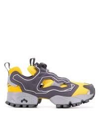 Chaussures de sport grises Reebok