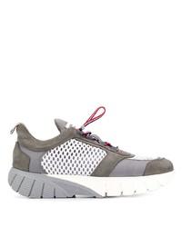 Chaussures de sport grises Thom Browne