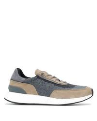Chaussures de sport grises Z Zegna