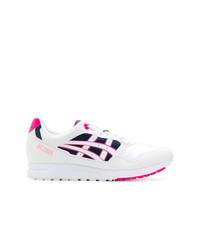 Chaussures de sport imprimées blanches