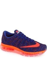 Chaussures de sport imprimées bleu marine