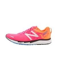 Chaussures de sport imprimées fuchsia New Balance