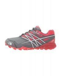 Chaussures de sport imprimées grises The North Face
