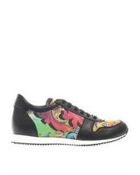 Chaussures de sport imprimées multicolores
