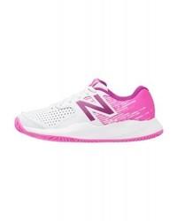 Chaussures de sport imprimées roses New Balance