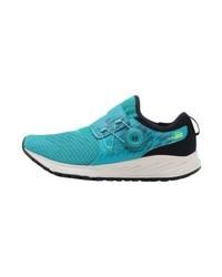 Chaussures de sport imprimées turquoise New Balance