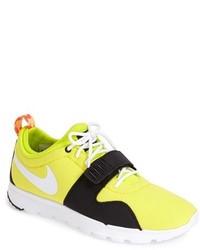 Chaussures de sport jaunes