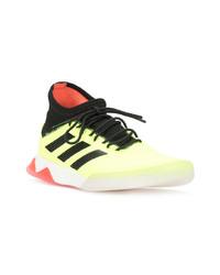 Chaussures de sport jaunes adidas