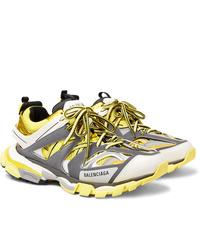 Chaussures de sport jaunes Balenciaga