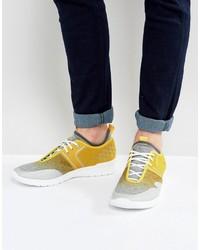 Chaussures de sport jaunes Boss Green