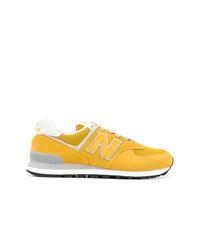 Chaussures de sport jaunes New Balance