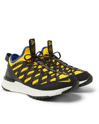 Chaussures de sport jaunes Nike