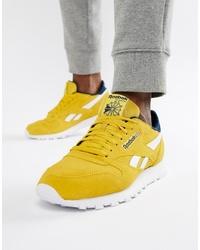 Chaussures de sport jaunes Reebok