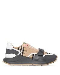 Chaussures de sport marron clair Burberry