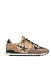 Chaussures de sport marron clair Golden Goose