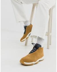Chaussures de sport marron clair Jordan