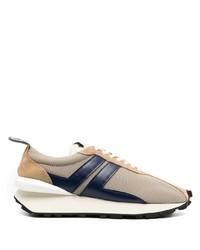 Chaussures de sport marron clair Lanvin