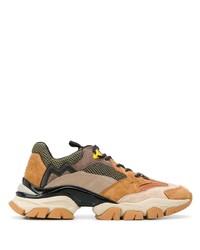 Chaussures de sport marron clair Moncler