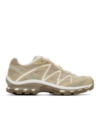 Chaussures de sport marron clair Salomon