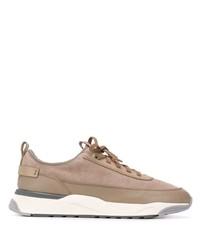 Chaussures de sport marron clair Santoni