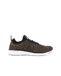 Chaussures de sport marron foncé Apl