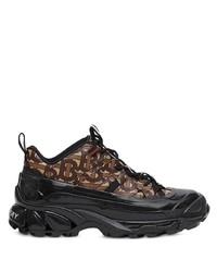 Chaussures de sport marron foncé Burberry